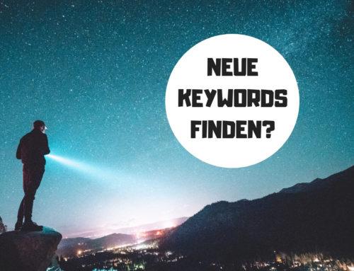 6 einfache Tipps um Keywords zu finden
