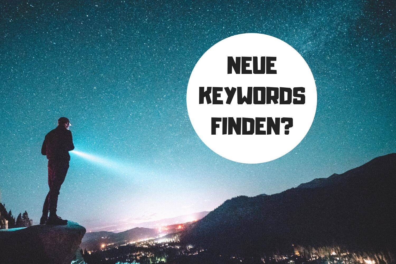 Neue Keywords Finden