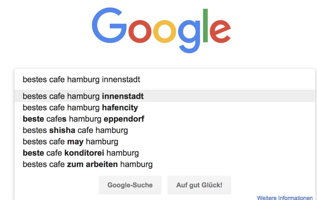 Auto Suggest Google