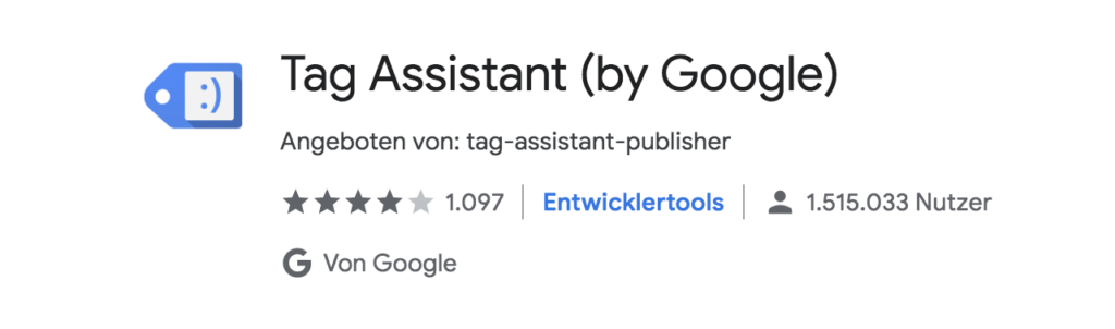 Tag Assistent by Google