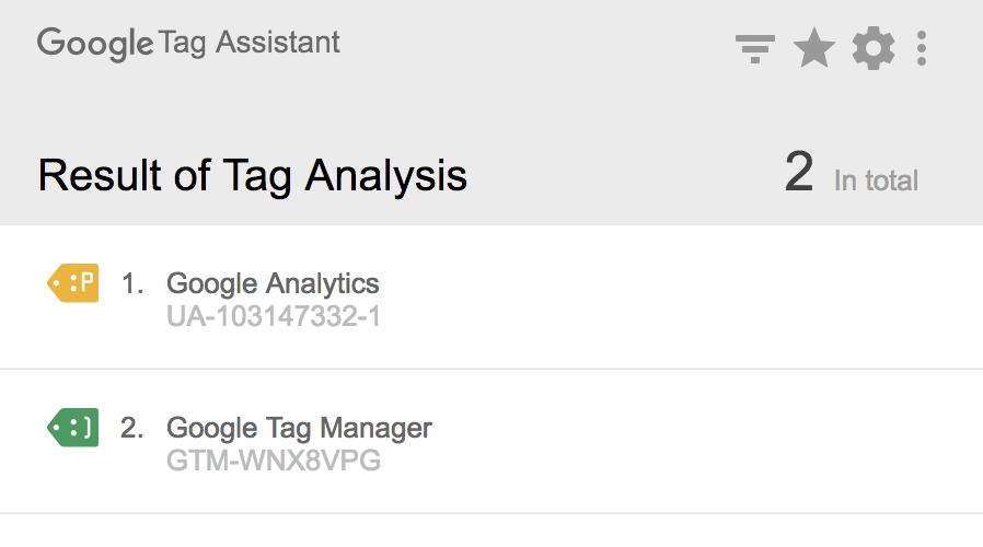 Tag Assistent