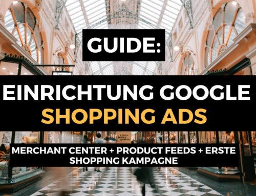 Google Shopping Kampagnen für Woocommerce Einrichten